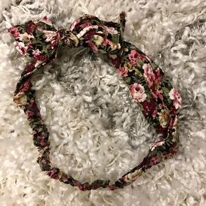 Bow Flower Headband